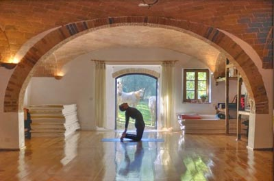 Yoga in the Heart of Tuscany